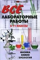 Готові лабораторні роботи 8 клас (Фізика, Хімія, Біологія)