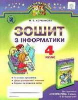 Зошит з Інформатики 4 клас Коршунова 2015
